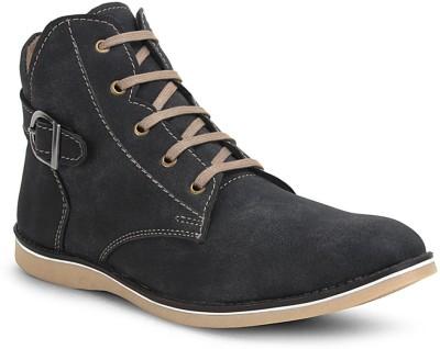Get Glamr Black Mens Boots(Black)
