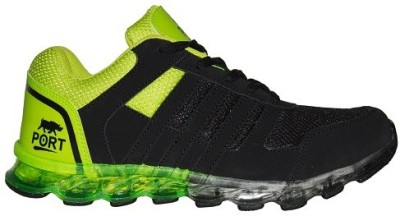 Port Atom Green Sports Running Shoes(Green)