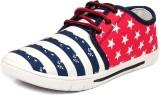 Navchetan ND Sneakers (Blue, Red)