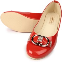 Anupamaa Red Buckle Bellies(Red)