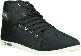 Nuke Highneck Casual Shoes (Black)