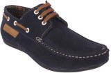 George Adam Ch2216blue Boat Shoes (Blue)