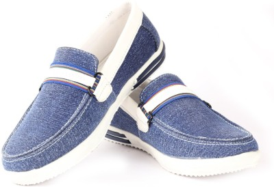 Moladz Genoa Blue Driving Shoes