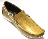 BLK LEATHER Loafers (Camel)