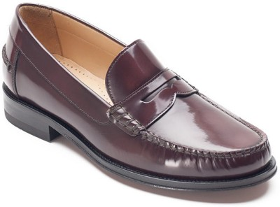 Heel & Buckle Heel & Buckle Glossy Strap Driving Loafers Corporate Casuals
