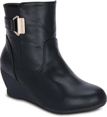 Get Glamr LAPIS Boots(Black)