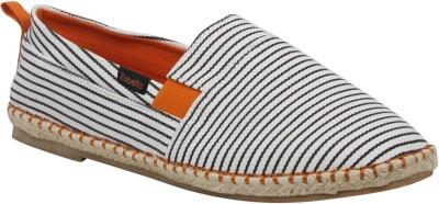 Zobello Rope Stripe Spanish Espadrilles Casual Shoes