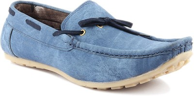 Platinum Peacock Loafers