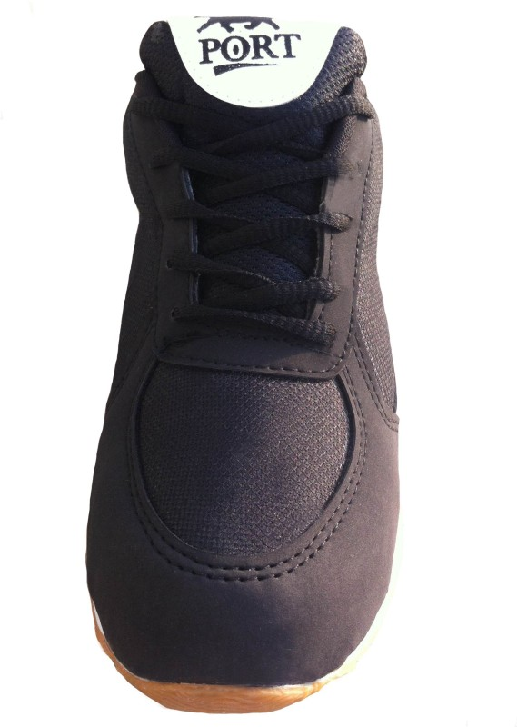 Port Black Expert 007 Tennis ShoesBlack SHOEGWVJANZRBPGW