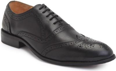 Housands - The Specter Black Lace Up Shoes
