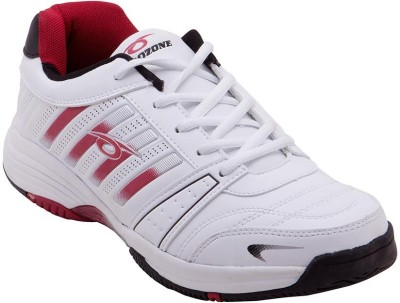 Prozone Men Designer Funky White Red Sports Running Shoes
