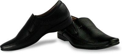 Firemark Leather Slip On Shoes