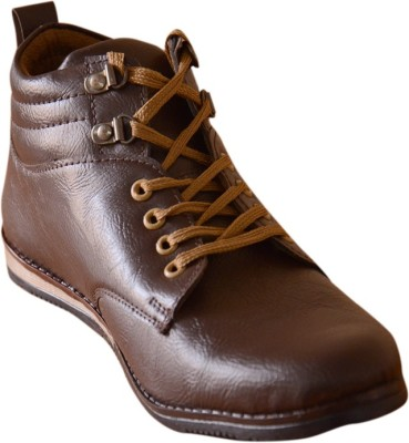 3 Wolves Brown Bucc Boots