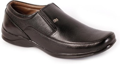 Shoes N Style Black Formal-12 Slip On Shoes