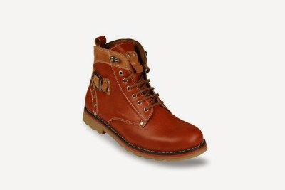 Bacca Bucci Tan midlock ankle boots Boots