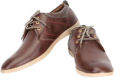 Quarks Side Punch Corporate Casual Shoes