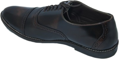 Stepin Soles Derby Brown Party Wear Shoes