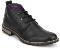 Knotty Derby Diggory Chukka Boots(Black)