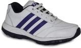 Kaar Running Shoes (White, Blue)