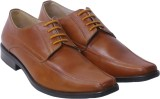 Shuvs Lace Up Shoes (Tan)