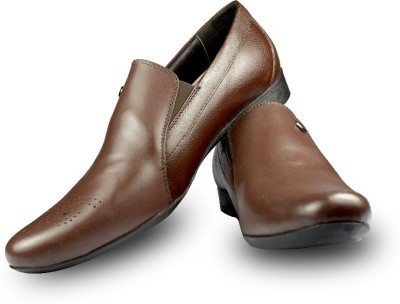 Blue Harpers Sweet Punch Brown Slip On Shoes