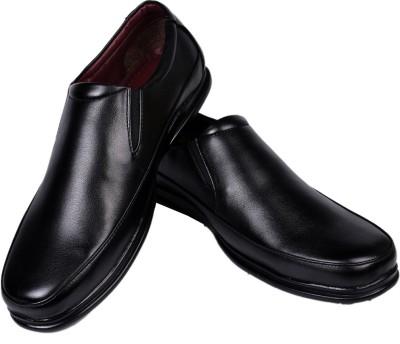 Azzaro Black Airstep Slip On Shoes
