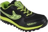 Urzza Running Shoes (Black, Green)