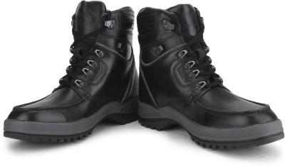 Woodland Men Boots(Black)