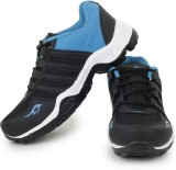Acto Black & Blue Men's Running Shoes Ca...