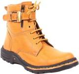Footfad Boots (Tan)