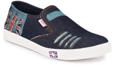 Shoe Day Canvas Shoes, Casuals, Sneakers, Loafers, Mocassin(Blue)
