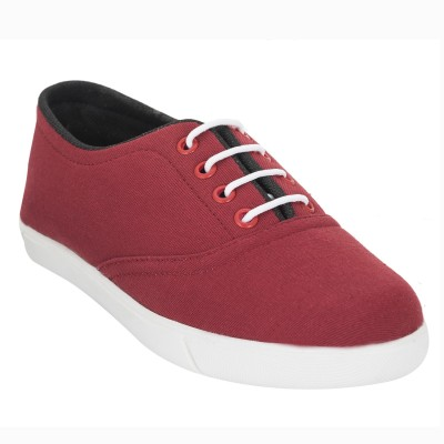 Advin England Red Casual Shoes Canvas Shoes