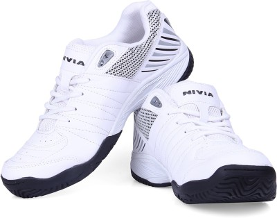 Nivia Rapid Tennis Shoe Tennis Shoes(White, Black)