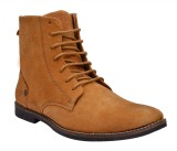 Sir Corbett Bucati Leather Boots (Tan)
