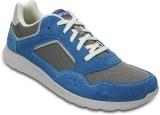 Crocs Kinsale Pacer Boat Shoes (Blue)
