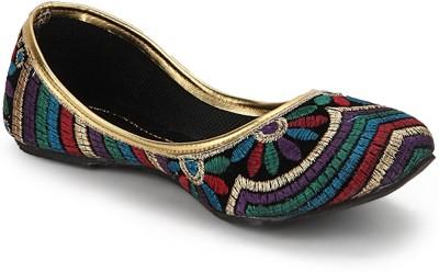 Paduki Ethnic Bellies(Multicolor)