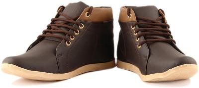 Anupamaa Anupamaa Stylish High toe Brown Boots Boat Shoes