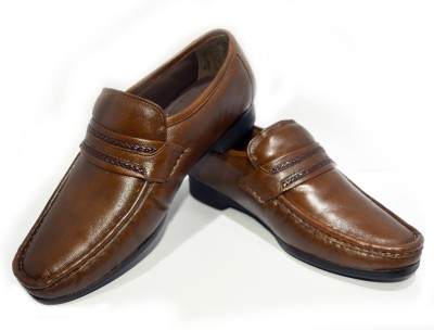 Ajanta Imperio Elegant Brown shoe Corporate Casuals