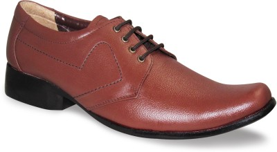 Sapatos Brown Genuine Leather Lace Up Shoes