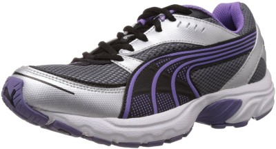 Puma Axis II Wns IDP Running Shoes(Purple, Silver)