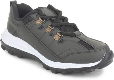 SRV Hummer1 Black Sports Running Shoes