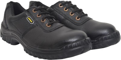 Hillson Jaguar Safety Shoe with Steel Toe Cap ISI Marked Casuals available at Flipkart for Rs.980