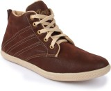 Jove Pious Canvas Shoes (Brown)