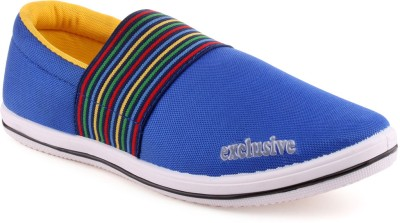 Klicker Wifi Exclusive R Blue Yellow Casual Shoes