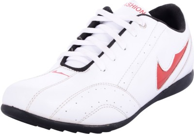 Zohran White Running Shoes