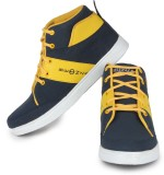 Beonza Casual Shoes (Blue, Yellow)