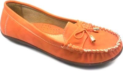 A Foot Locker Loafers(Orange)