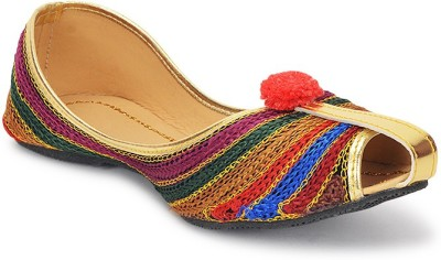 Paduki Ethnic Jutis(Multicolor)