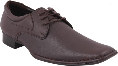 Maly M-6-BROWN Lace Up