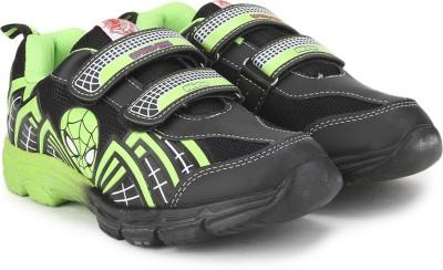 Spiderman Bsodsm07a,Black Green Casual Shoe